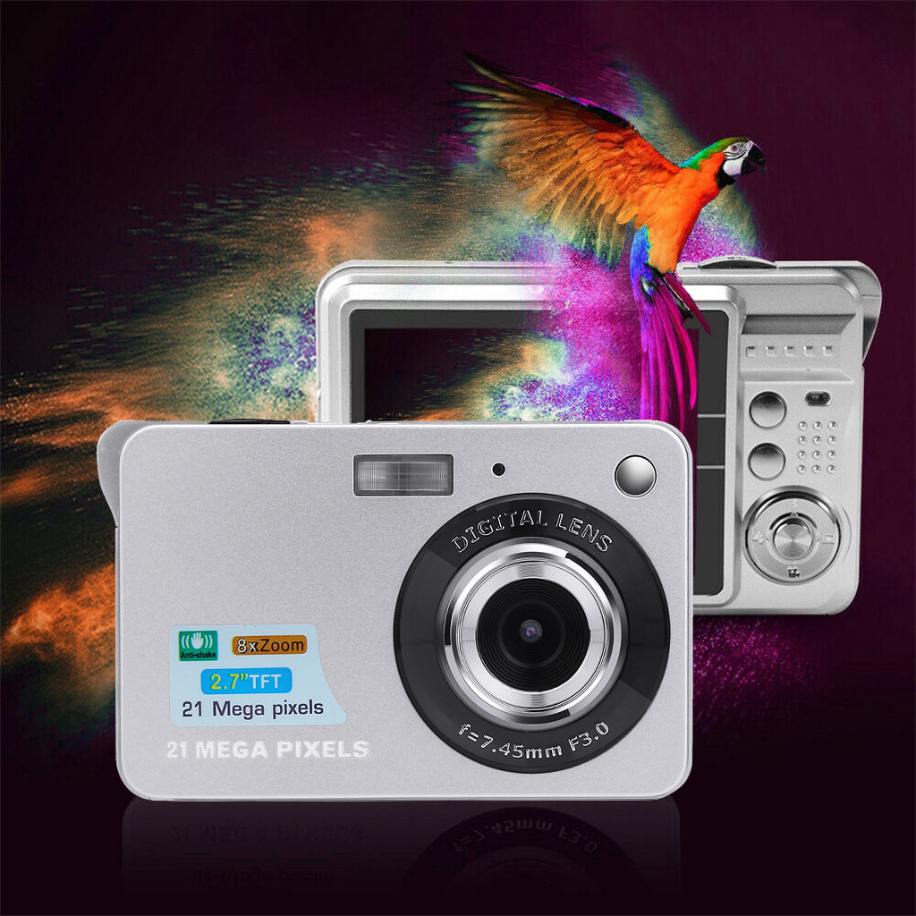 HTB1VRnWX8WD3KVjSZFsq6AqkpXaP Digital Cameras 2019 2.7HD Screen Digital Camera 21MP Anti-Shake Face Detection Camcorder 8X digital zoom with Microphone c0612