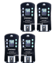 4 x YongNuo RF 605=RF 603+RF 602 N Wireless Remote Flash Flashes Trigger Shutter Release Transmitter Receiver for Nikon SLR DSLR