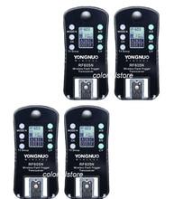 4 x YongNuo RF = RF + RF N Từ Xa Không Dây Flash Nhấp Nháy Kích Hoạt Màn Trập Phát Hành Transmitter Receiver cho Nikon SLR DSLR