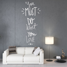 Creative love quotes Family Wall Stickers Mural Art Home Decor Bedroom Nursery Decoration Accessories