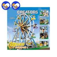 2016 New LEPIN 15012 CREATOR Series The Ferris Wheel Model Building Blocks Set Classic Compatble 10247