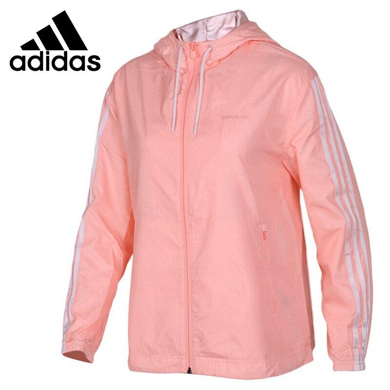 Original New Arrival 2018 Adidas Neo Label W WB STN Women's jacket Hooded Sportswear original new arrival 2017 adidas neo label w woven s pants women s pants sportswear