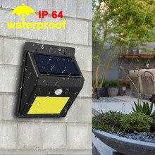 Eeetoo led lanterna à prova dwaterproof água ao ar livre sensor de luz rua parede movimento lâmpada solar jardim emergência led night light lâmpadas estrada