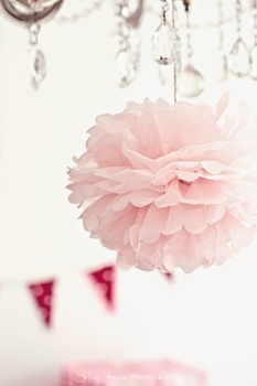 14 inch (35 cm )Large Decorative Wedding Flowers Ball Tissue Paper Pom Poms for Party, 50 pcs / lot
