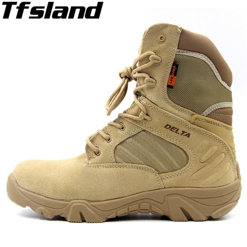 Nouveaux hommes chaussures de randonnée DELTA professionnel bottes imperméables bottes tactiques en plein air escalade sport baskets chaussures de randonnée