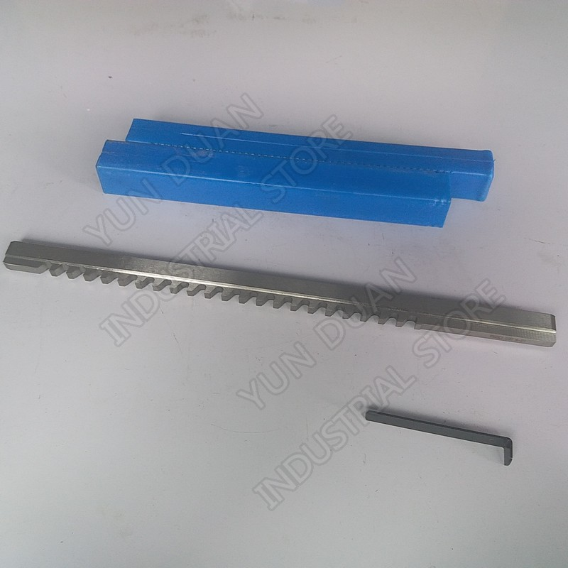 8mm c keyway broach tipo push hss