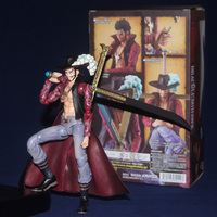 Good craft PVC Anime ONE PIECE Variable Dracule Mihawk Action Heroes Figure DIY Modelling Toy Boy Gift Collectibles