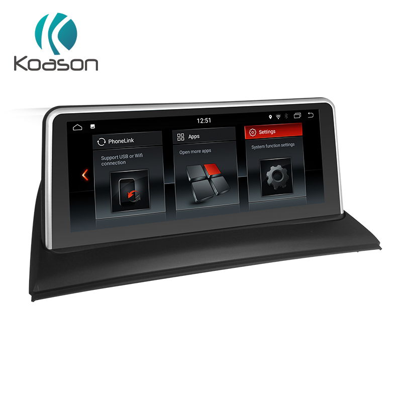 Koason Auto Navigator 10.25'' Android 8.1 Car Intelligent System Audio Multimedia Player For BMW X3 E83 Vehicle GPS Navigation