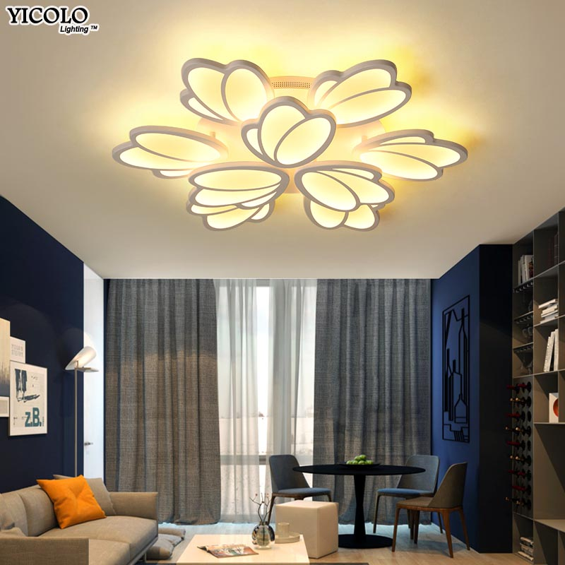 Dimming Ceiling Lights flush mount noverlty for living room bed room lamparas de techo abajur De Techo Plafond Home Lamp