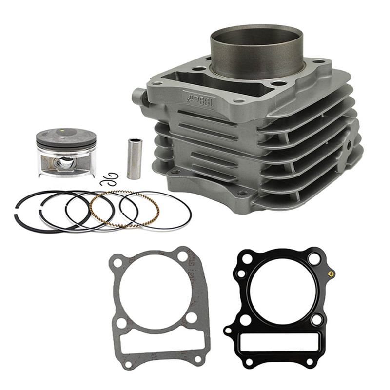 Motorcycle Air Cylinder Block & Piston kit & Gasket  kit for SUZUKI DR200 SE DF200 96-09 VANVAN200 VAN VAN 200 vaio vpc eh2m1r w купить