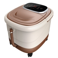 Russia Free Shipping Fully Automatic Heated Feet Device Electric Foot Bath Thermostated Pediluvium Device Bucket