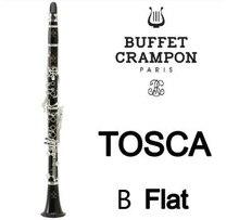 Фирменная Новинка Buffet Crampon Профессиональный деревянный кларнет TOSCA сандалового дерева Ebony Профессиональный кларнет модели студента Bb бакелит