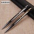 1 pc Penna A Sfera In Metallo Penna di Sfera del Regalo Ad Un Amico di Olio D'ottone di Alta Qualità