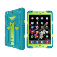 For Apple IPad Air Case Silicone And PC Shockproof Heavy Duty Armor Cover For IPad 5