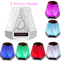 Mini LED Night Lamp Bluetooth Speaker 7 Color Switch Speakers Portable Parlantes Bluetooth Altavoz Portatil Handsfree Clock FM