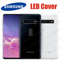 Original Samsung S10 LED Case S10e Samsung Galaxy S10+ S10 Plus Led light Smart Back Cover