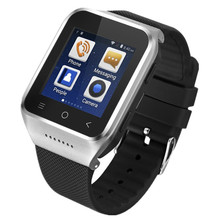 WIFI Android 4.4 Smart Watch Phone Bluetooth 4.0 GPS SmartWatch Android Phone Clock MTK Dual Core Camera 2.0MP 3G SIM Card Gift