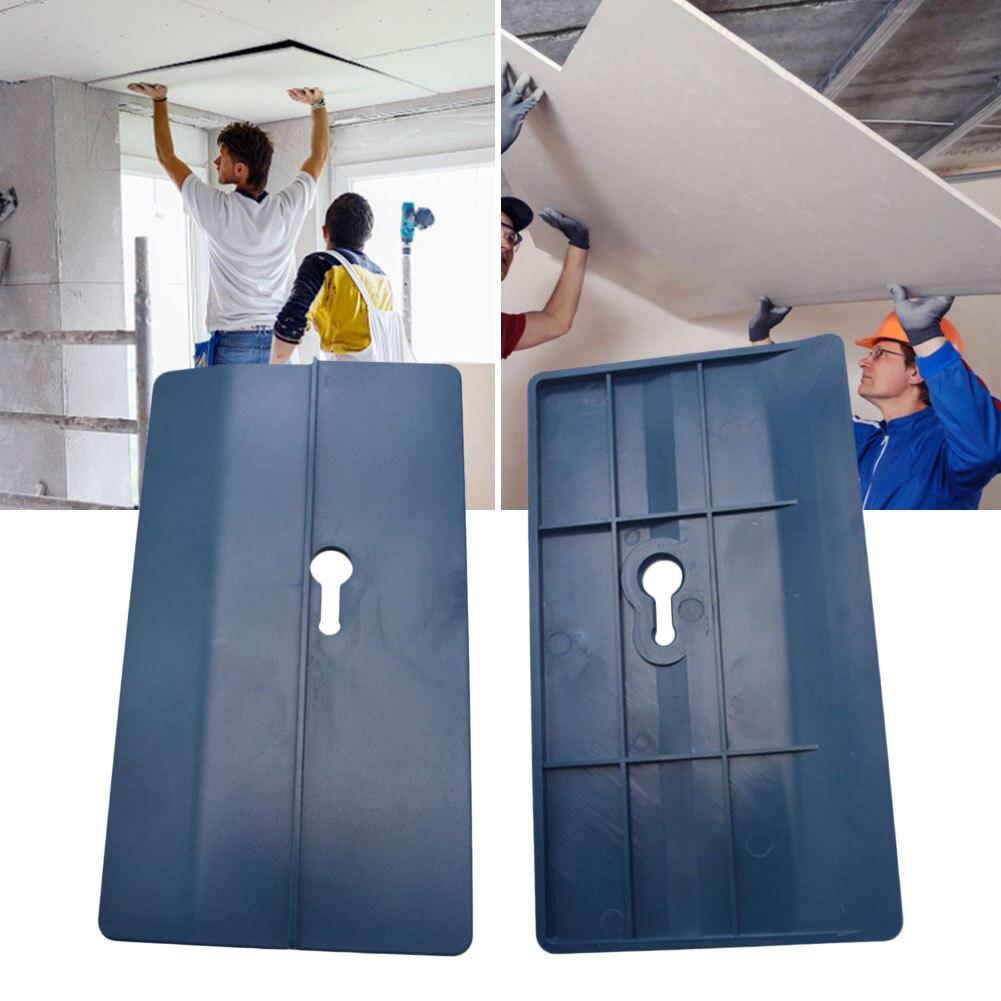 2 個乾式壁フィッティングツール石膏ボード固定具ルーム天井傾斜壁装飾大工ツール天井ポジショニングプレート