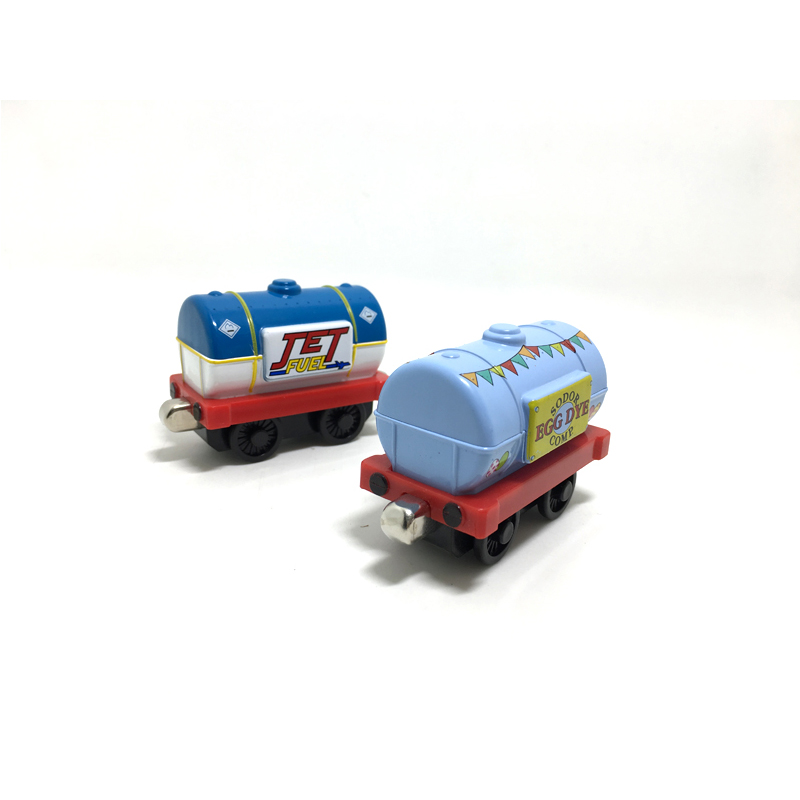 T0148 Thomas and friends jet fuel tanker Diecast magnetic children Track Toys- Easter eggs tank truck and jet fuel tank truck