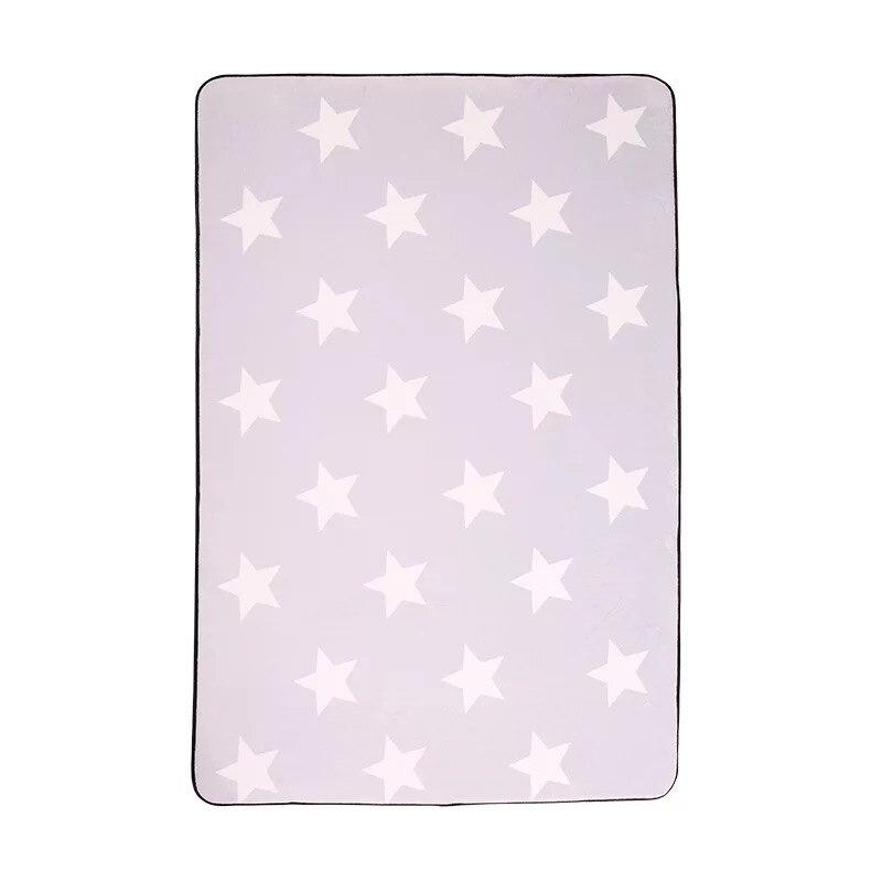 Coréen Design Étoile Imprimé Tapis 1 PC Anti-Dérapant Tapis De Bain tapis Doux Bébé Jouer Tapis pour Salon Chambre Intérieur tapis