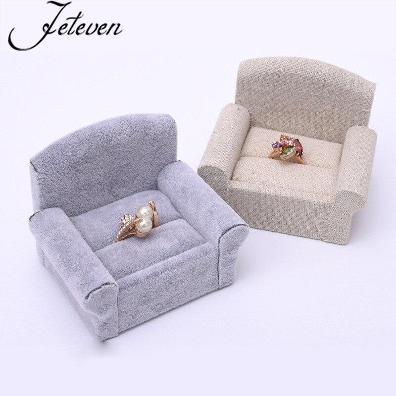 Single Sofa Jewelry Ring Display Stand Ear Stud Ring