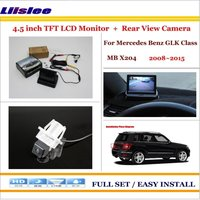 Liislee For Mercedes Benz GLK Class MB X204 2008~2015 Car Reverse Rear Camera + 4.3 TFT LCD Monitor = 2 in 1 Parking System