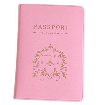 2018 etui na karty kredytowe prosty styl okładka na paszport różowy brązowy identyfikator podróży etui na paszport pcv etui na paszport etui na uchwyt modele do pary tanie i dobre opinie LKEEP Unisex List NL874959 13 4 Id posiadacze kart Nie zamek Moda Poduszki Wizytówki Passport Cover Card ID Holders