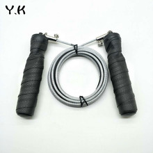 Y.K Steel Wire Jump Rope Professional Skipping Rope Load Bearing Wire Rope Skipping Adjustable Length Fitness Equipment Exercise