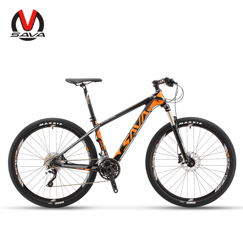 Carbon Fiber Bikes >> Sava Deck300 30 Speed Carbon Fiber Mtb Mountain Bike 27 5 Ultralight Bicycle