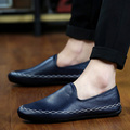 2016 Fashion Moccasins Men Loafers Soft Leather Shoes Men's Flats Slip On Gommino Driving Shoes Leather High Quality Freeshiping