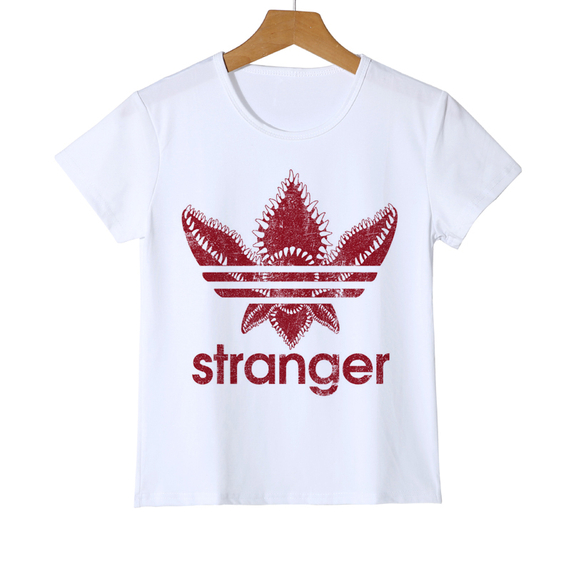 New Stranger Things Kid t shirt Stranger-things Boy/Baby t-shirt Hawkins Girl Summer Demogorgon Top Tees Y8-56