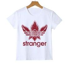 New Stranger Things Kid t shirt Stranger-things Boy/Baby t-shirt Hawkins Girl Summer Demogorgon Top Tees Y8-56