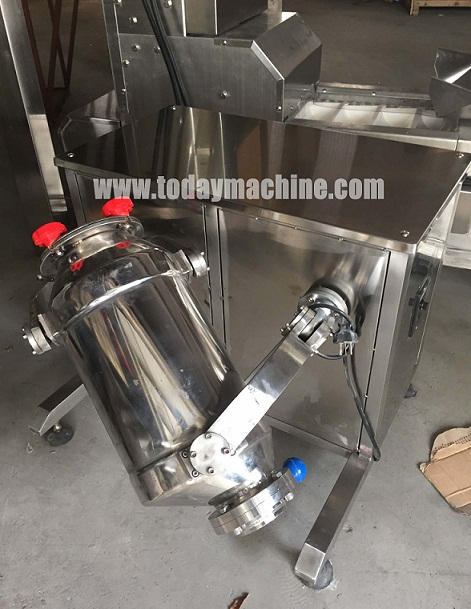Electric Stainless Steel Powders And Granules Mixer Blender Relay