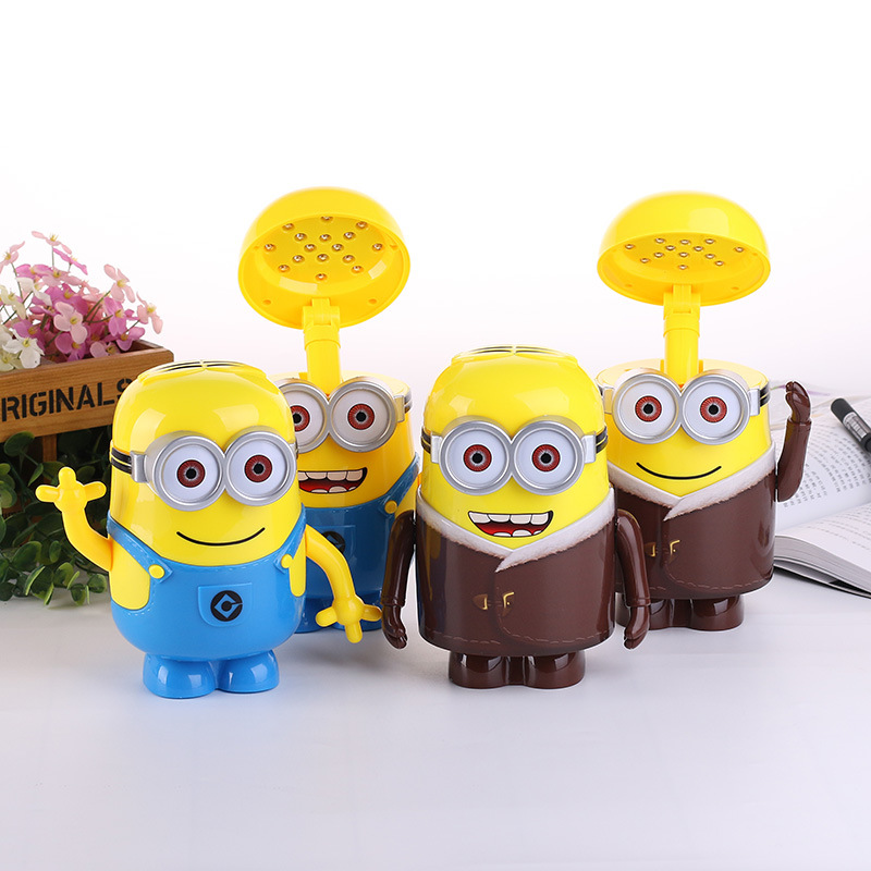 Minions Charging Lamp Learning Lamp table lamp Led Night Light Use As Money Box Minions Piggy Bank For Children Gifts