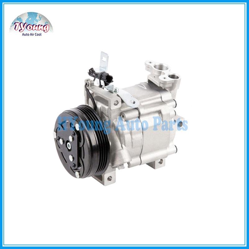 New Auto AC A//C Compressor DKV10R 4PK 100mm 12V