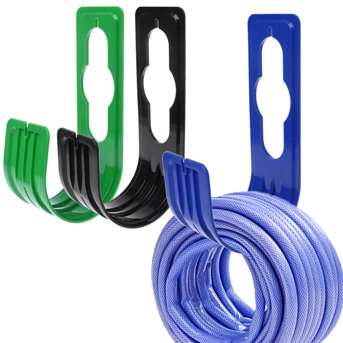 Garden Yard Watering Organizer Hook Storage Rack Pipe Holder Hosepipe Hanger