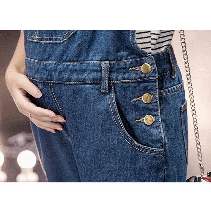 3615e58b928b Pregnancy Braced Uniforms Prop Belly Rompers Elastic Maternity Suspenders  Jumpsuits Pants For Pregnant Women Denim Overalls-in Jeans from Mother    Kids on ...