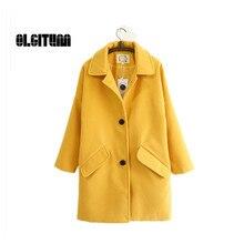 Autumn & winter fashion Women's  slim coats ladies long warm overcoat  jacket female  high quality jacket