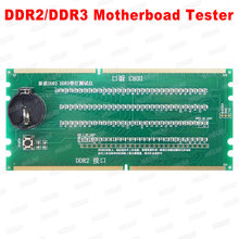 Free shipping 2019 New Generation Desktop PC Motherboard DDR2 DDR3 RAM Memory Slot /LED Diagnostic Analyzer Tester Card(China)