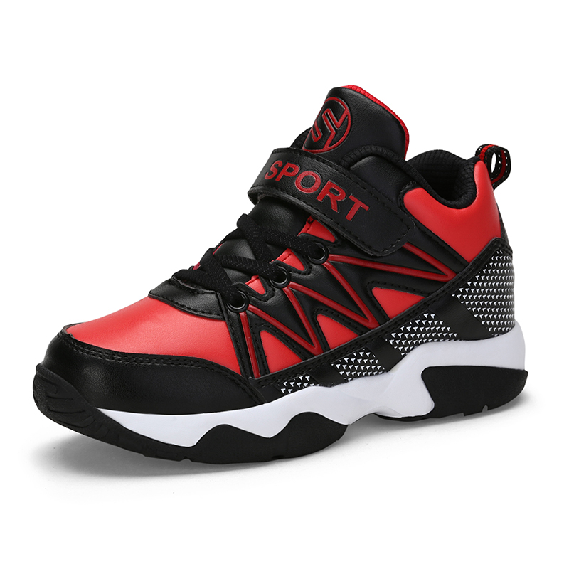 Sneakers Qiutexiong Boys Sneakers For Kids Shoes Children Casual Shoes Anti-slip Student School Basketball Trainers Sport Running Shoes Soft And Light