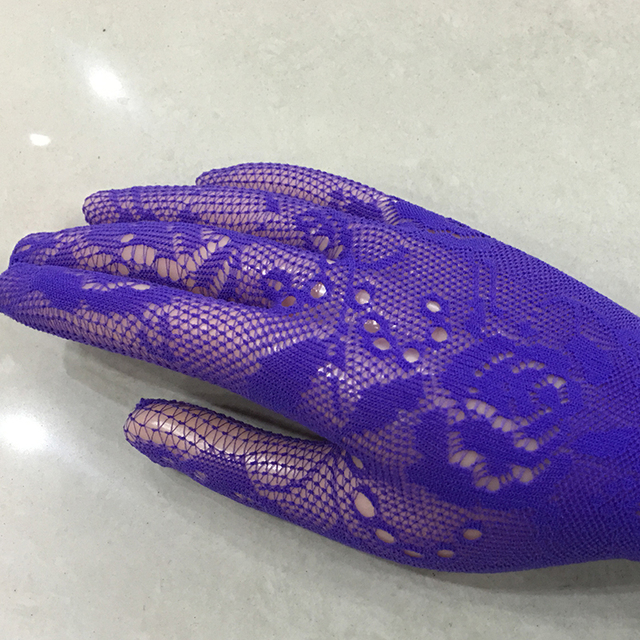 Sexy transparent lace elastic gloves bride sleeve gloves mesh liturgy gloves sexy gloves lace 616 4