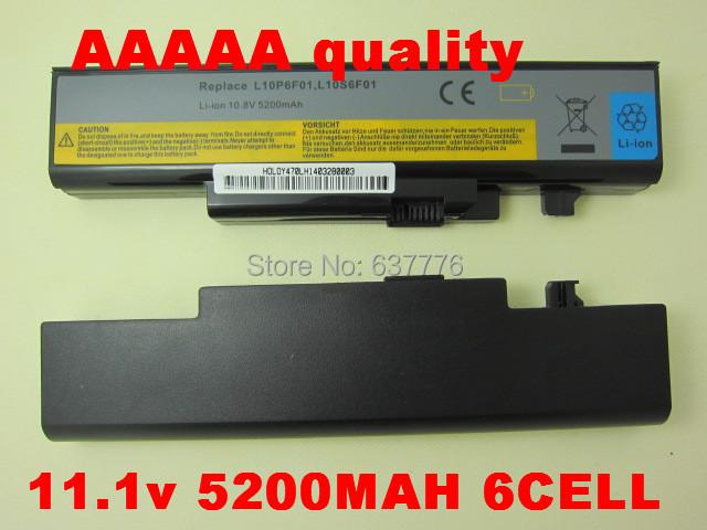 Batería del ordenador portátil para Lenovo L10N6Y01 L10S6Y01 L09N6D16 L09S6D16 L10C6F01 Y570 Y470 Y560 Y470P Y560d Y560p IdeaPad Y570M