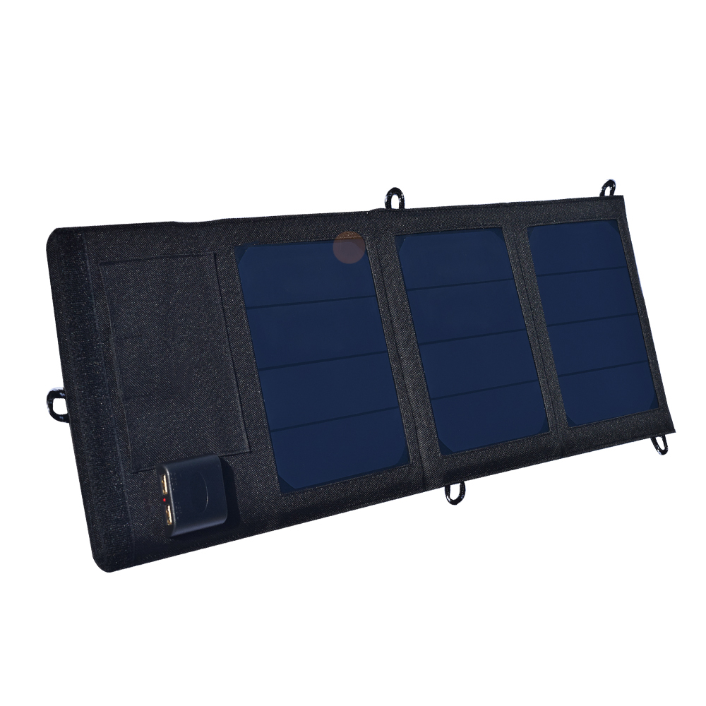 Folding Foldable Waterproof Solar Panel 6v/12w 2A solar Dual USB Port Portable Solar Power Panel cell Phone charger cargador 12w dual usb folding solar charger solar panel module power bank outdoor emergency cell phone charger voltage current display