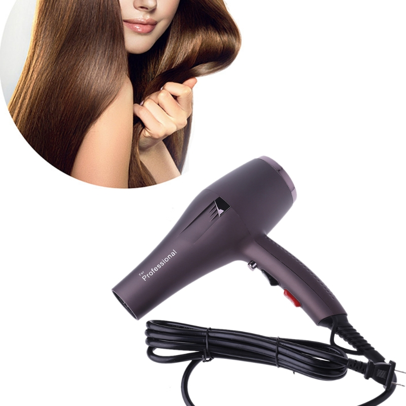 Professional Hot Warm Cold Wind Hair Dryer Blow Nozzle AC Motor 2000W Salon Tool Home Personal Care Appliance Hair Dryers