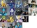 Syd Bud Bado  Hyoga Pegasus Shiry Ikki Alcor Dzeta Mizar Dzeta Myzar Zeta Saint Seiya Myth Cloth EX Metal CS Speeding model