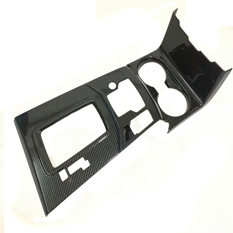Fit For <font><b>Mazda</b></font> CX-5 <font><b>CX5</b></font> 2017 <font><b>2018</b></font> Auto accessories 3 colors ABS Chrome carbon fiber Interior Gear Shift Frame Cover Trim image