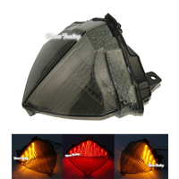 waase For Yamaha YZF R1 2004 2005 2006 Rear Tail Light Brake Turn Signals Integrated LED Light