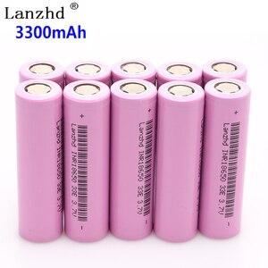Image 3 - 1~8pcs 18650 3.7V INR18650 Rechargeable batteries lithium li ion 3.7v 30a large current 18650VTC7 18650 battery