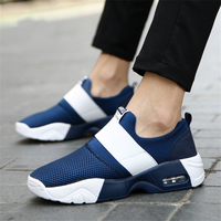 Outdoor new Women wife flat Casual shoes joker Net cloth PU Air cushion cushioning zapatos mujer chaussure homme tenis feminino