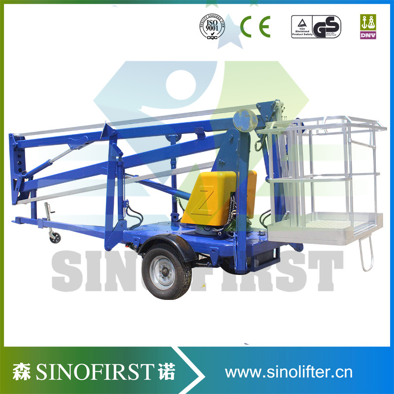 10m 180kg High Safety Driveable Cherry Pickers